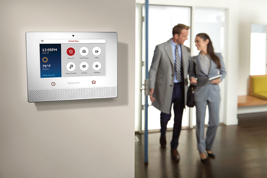 Honeywell Lyric Controller Panel